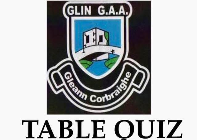 Glin GAA Pub Quiz